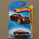Hot Wheels 2010 New Models Cadillac CTS-V (burgundy)