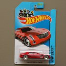Hot Wheels 2013 HW City Cadillac Sixteen Concept (red)