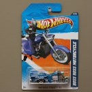 Hot Wheels 2011 HW Main Street Boss Hoss Motorcycle (blue)