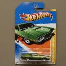 Hot Wheels 2011 New Models '72 Ford Gran Torino Sport (green)