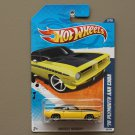 Hot Wheels 2010 Muscle Mania '70 Plymouth AAR Cuda (yellow)