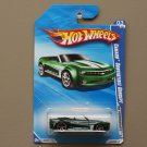 Hot Wheels 2010 HW Performance Camaro Convertible Concept (green)