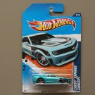 Hot Wheels 2011 Nightburnerz Chevy Camaro Concept (turquoise)