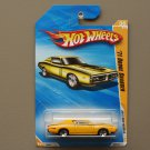 Hot Wheels 2010 New Models '71 Dodge Charger (yellow)