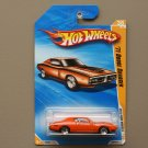 Hot Wheels 2010 New Models '71 Dodge Charger (orange)