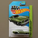 Hot Wheels 2013 HW Workshop '69 Ford Mustang (green)