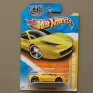 Hot Wheels 2010 New Models Ferrari 458 Italia (yellow)