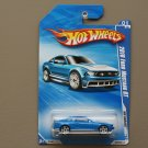 Hot Wheels 2010 HW Garage 2010 Ford Mustang GT (blue)