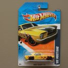 Hot Wheels 2011 Heat Fleet '65 Mustang (yellow)
