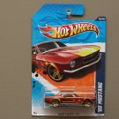 Hot Wheels 2011 Heat Fleet '65 Mustang (burgundy)