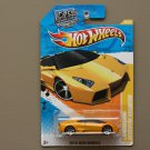 Hot Wheels 2010 New Models Lamborghini Reventon Roadster (yellow)