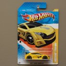 Hot Wheels 2011 New Models Renault Megane Trophy (yellow)