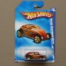 Hot Wheels 2009 Heat Fleet Custom Volkswagen Beetle (burgundy)