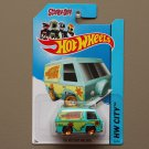 Hot Wheels 2014 HW City The Mystery Machine (Scooby Doo)