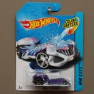 [MISSING PIECE ERROR] Hot Wheels 2014 Color Shifters Skull Crusher (purple to pink)