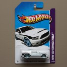 Hot Wheels 2013 HW Showroom '10 Ford Shelby GT500 Supersnake (white) (blue wheels variation)
