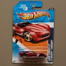 Hot Wheels 2011 Faster Than Ever 2009 Corvette Stingray Concept (red)