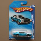Hot Wheels 2010 Muscle Mania '70 Buick GSX (blue)