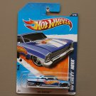 Hot Wheels 2011 HW Racing '66 Chevy Nova (blue)