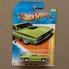 Hot Wheels 2011 New Models '71 Dodge Challenger (lime green)