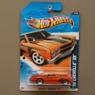 Hot Wheels 2011 Muscle Mania '70 Chevelle SS (orange)
