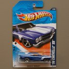 Hot Wheels 2011 Muscle Mania '70 Chevelle SS (blue)