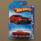 Hot Wheels 2010 Nightburnerz '70 Chevelle SS (red)