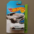 Hot Wheels 2014 HW Workshop '14 COPO Camaro (ZAMAC silver - Walmart Excl.)