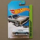 Hot Wheels 2014 HW Workshop Chevrolet SS (Opala) (ZAMAC silver - Walmart Excl.)