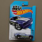 Hot Wheels 2014 HW City '71 Mustang Funny Car (blue)
