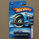 Hot Wheels 2006 First Editions '05 Dodge Viper Coupe (blue)
