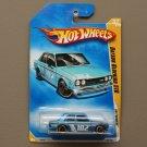 Hot Wheels 2009 HW Premiere Datsun Bluebird 510 (blue)