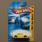 Hot Wheels 2007 New Models Porsche Cayman S (yellow)
