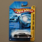 Hot Wheels 2007 First Editions Buick Grand National (black) (RARE 5-spoke wheel variation)