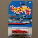 Hot Wheels 2000 First Editions Ferrari 550 Maranello (red)