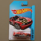 Hot Wheels 2014 HW City Custom '12 Ford Mustang (red)
