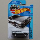 Hot Wheels 2014 HW City '81 Delorean DMC-12 (grey) (See Condition)