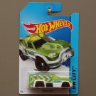 Hot Wheels 2014 HW City Rescue Duty (green) (Treasure Hunt)