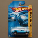 Hot Wheels 2007 New Models '70 Pontiac Firebird (blue)