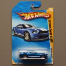 Hot Wheels 2010 New Models '10 Ford Shelby GT500 (blue)