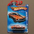 Hot Wheels 2009 Rebel Rides '70 Mustang Mach 1 (orange)