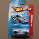 Hot Wheels 2008 Web Trading Cars Ford GT-40 (blue)