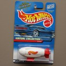 Hot Wheels 2000 Virtual Collection Cars Blimp (white)