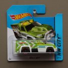 Hot Wheels 2014 HW City Rescue Duty (green) (Treasure Hunt)