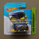 Hot Wheels 2014 HW Workshop Volkswagen Kool Kombi (blue)