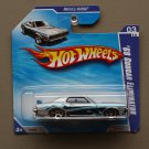 Hot Wheels 2010 Muscle Mania '69 Mercury Cougar Eliminator (silver)