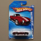 Hot Wheels 2010 Hot Auction Shelby Cobra 427 S/C (burgundy)