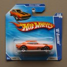 Hot Wheels 2010 Muscle Mania '67 Camaro (orange)