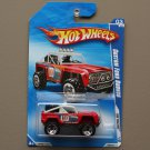 Hot Wheels 2010 HW Racing Custom Ford Bronco (red)