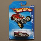 Hot Wheels 2010 HW Hot Rods Bone Shaker (red)